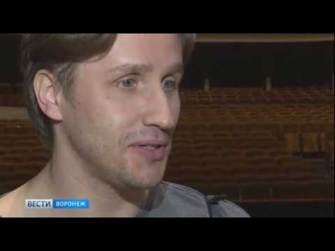 Andrey Merkuriev - rehearsal in Voronezh, April 2018 - tv report
