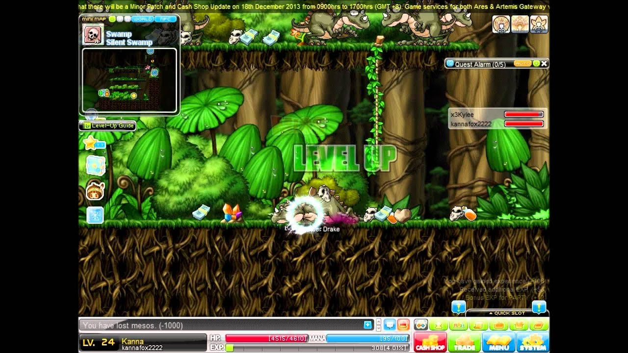 maplesea kanna training guide for level 1 30 under 15minutes rh youtube com