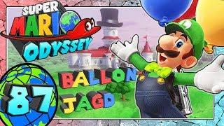SUPER MARIO ODYSSEY Part 87: Luigis Ballon-Jagd Tutorial Pilz-Königreich & das Musiker-Outfit