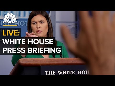 WATCH LIVE: White House Holds Press Briefing — Monday, March 11 2019