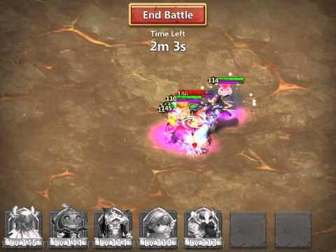 Castle Clash Tier 3 Boss   GR, Cupid, Druid, PD, Champ
