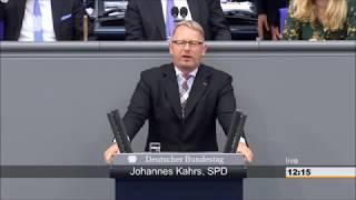 Johannes Kahrs zu Rechtsradikalen im Bundestag: