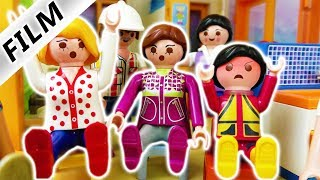 Playmobil Film Deutsch ELTERN-KONFERENZ IN KITA! EMMA KOMMT BALD IN KINDERGARTEN - Familie Vogel