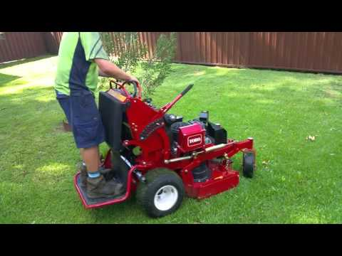Lawn Mowing North Richmond NSW - Mowing With The Toro Grandstand 36