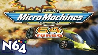 Micro Machines 64 Turbo - Nintendo 64 Review - HD