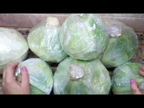 Как хранить красную капусту зимой