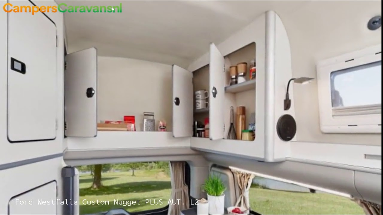 Ford Westfalia Custom Nugget Plus Aut L2 Vast Toilet Youtube