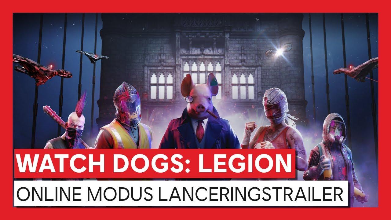 WATCH DOGS LEGION ONLINE MODUS LANCERINGSTRAILER
