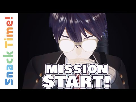 MISSION START! NIJISANJIfication of all humankind | Snack Time! #1 (VTuber Anime) (Eng Sub)