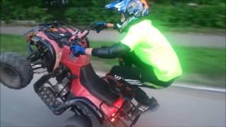 IRBIS ATV 110/Stunt/Едем на задних. Sobinka33