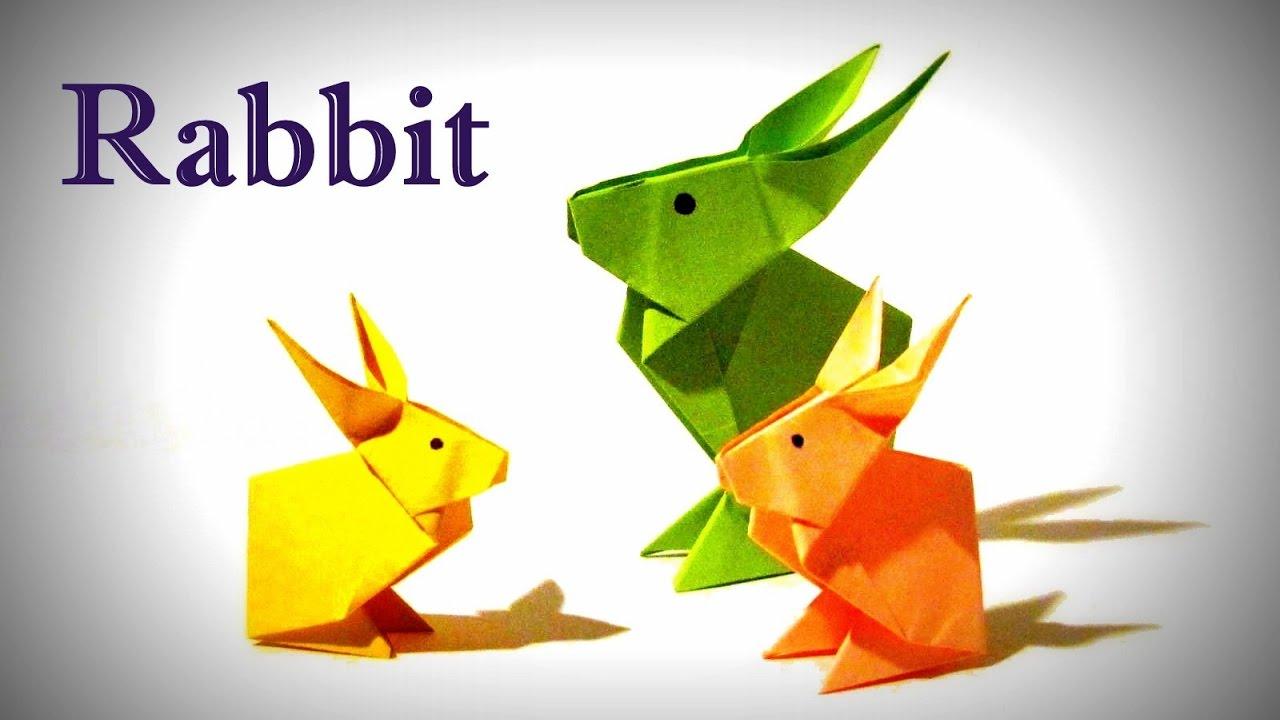 Origami Rabbit How To Make An Origami Rabbit Rabbit Easy
