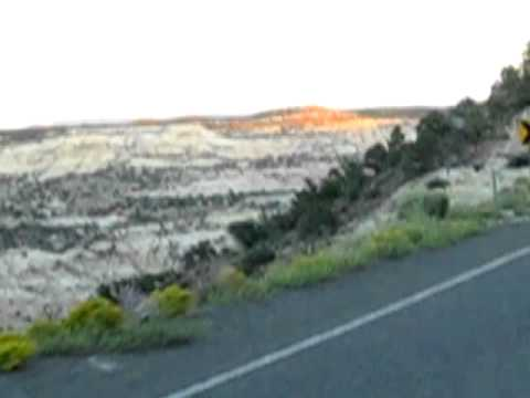 "Fun Roads: ""Knife Edge"" Hwy 12 between Escalante and Boulder, Utah"