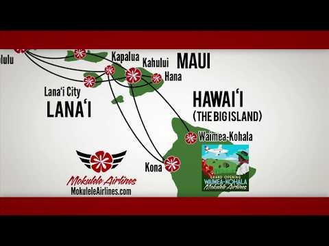 Mokulele Airlines Introduces Waimea