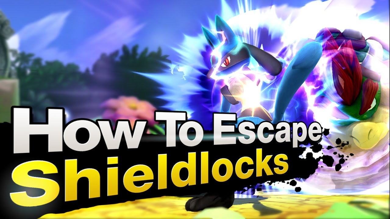 Smash 4 Wii U - How To Escape Shieldlocks