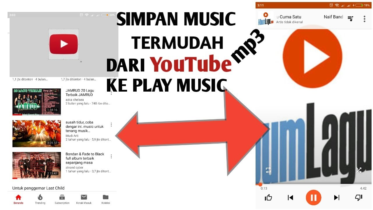Cara Download Video Mp3 Di Youtube Menjadi Mp3 Simpan Ke Play Music