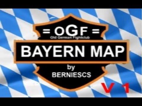 OGF Bayern Map V1  - Landwirtschafts-Simulator 2013 Mod-Map