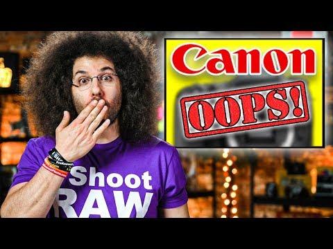 OOPS Canon LEAKS 2 NEW Cameras?! Nikon FINALLY WINS BIG…?