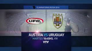 Amistoso - Austria vs Uruguay