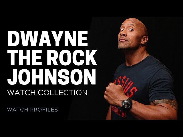 Dwayne 'The Rock' Johnson Watch Collection - Celebrity Watch Collection | [Watch Collection]