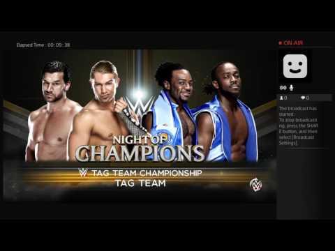 WWE2k16 Night Of Champions PPV