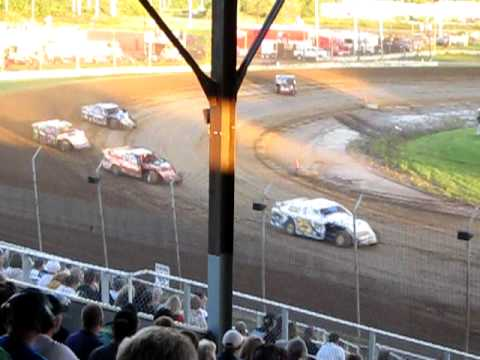 Upper Iowa Speedway USMTS Heat 2 Finish