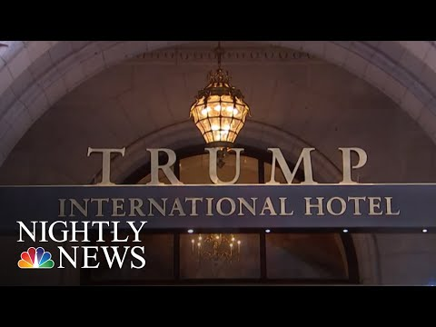 Critics Blast Spending By Foreign Govt. And Political Groups At Trump's DC Hotel | NBC Nightly News