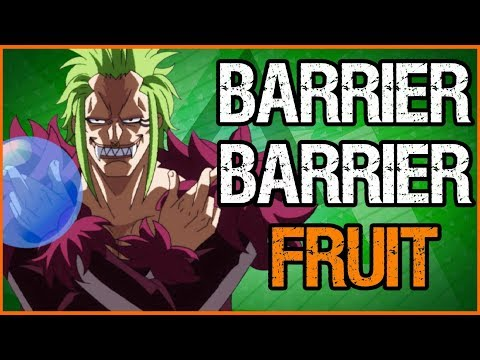Bartolomeo's Barrier Barrier Fruit Explained - One Piece Discussion