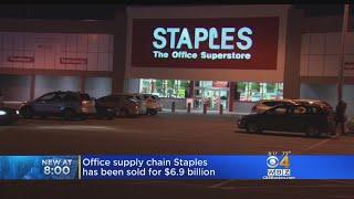 Staples Sold For $6.9 Billion