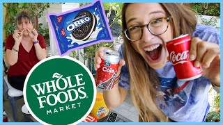 Name Brand Vs. Whole Foods!