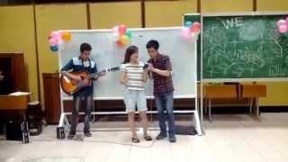 Tình yêu màu nắng - Hoài Vi, guitar by Trung Đại 6/4/2014