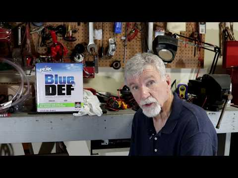 How to remove DEF from RAM 2500 Cummins Diesel