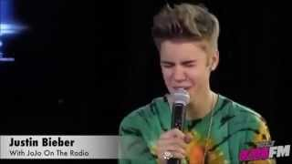 Justin Bieber singing Catching Feelings / Climax A Cappella | Best Vocals