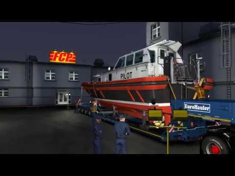 Euro Truck Simulator 2, Pilot-boat.