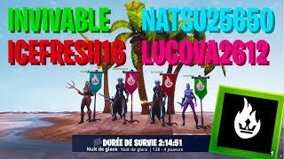 How to succeed on ice night 128?! [Fortnite save the world]
