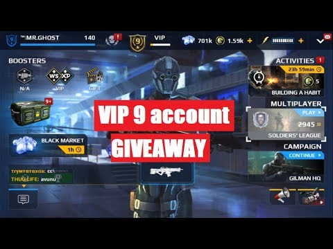 LIVE #103, mc5- VIP 9 ACCOUNT GIVEAWAY FOR ANDROID AND VIP 5 FOR WINDOWS APA+EUR, squad battle