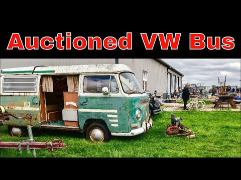 Volkswagen Bus at Auction what will it sell for?