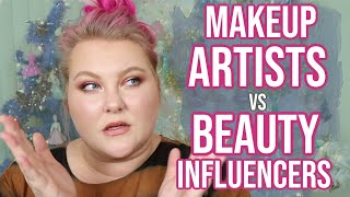 Makeup Artists vs Beauty Influencers: What's The Difference?! // Tube Talk   Lauren Mae Beauty