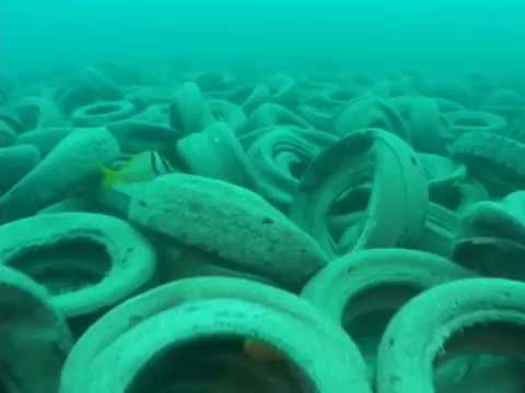Florida dumps 600,000 tires Ft Lauderdale beaches