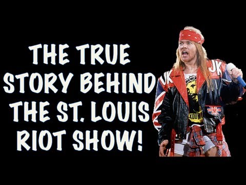 Guns N' Roses: The True Story Behind the St. Louis Riot 1991 (2017)