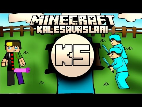 Minecraft: NDNG Kale Savaşları - P**İS KALE w/Enes +15