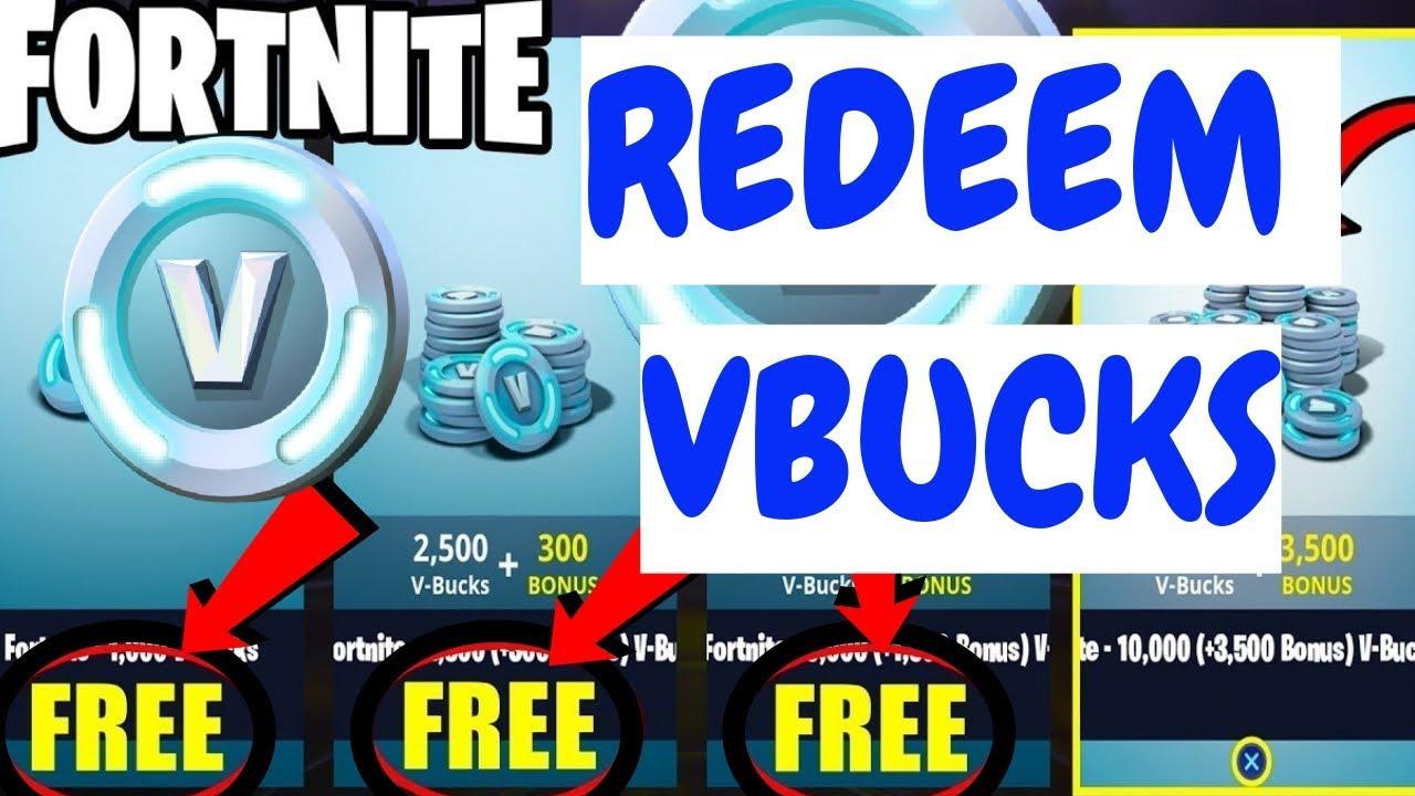 How To Redeem V-Bucks On Fortnite Battle Royale!