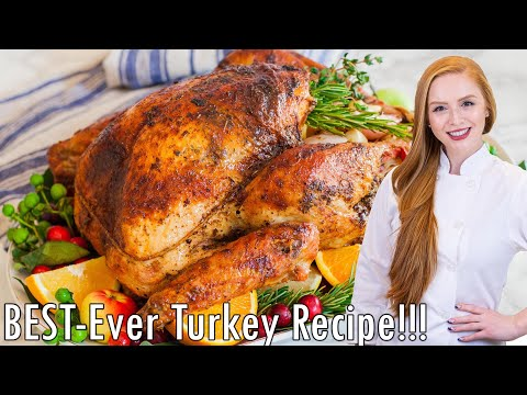 Garlic Butter Turkey + Easy Gravy Recipe