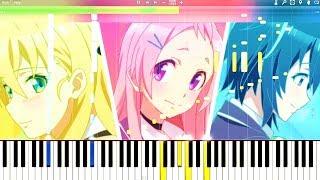 Gamers! Ending 2『Koi no Prologue☆』Piano Tutorial, ゲーマーズ!『恋のPrologue☆』ピアノ