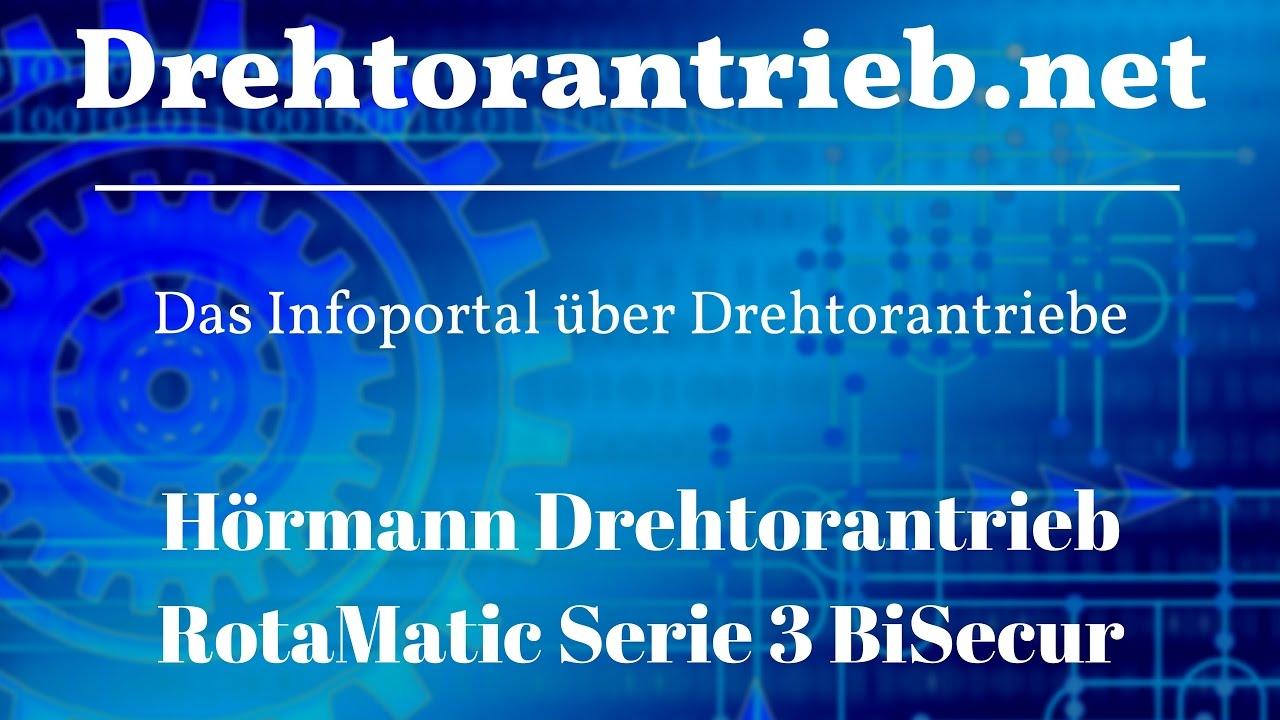 H/örmann Drehtorantrieb RotaMatic 2 Serie 3 BiSecur