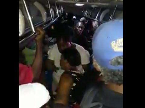 Women fight on JUTC bus filled with passengers, Jamaica urban transit company needs improvement