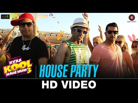 House party song kyaa kool hain hum 3 tusshar kapoor for Classic house party songs