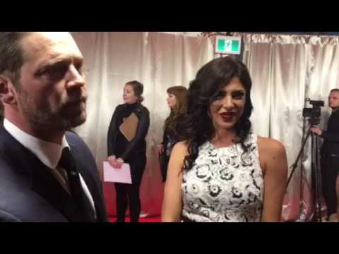 Chat w Jason Priestley & Cindy Sampson at 2017 Canadian Screen Awards