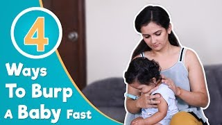 How To Burp A Baby Fast | 4 Best Burping Techniques