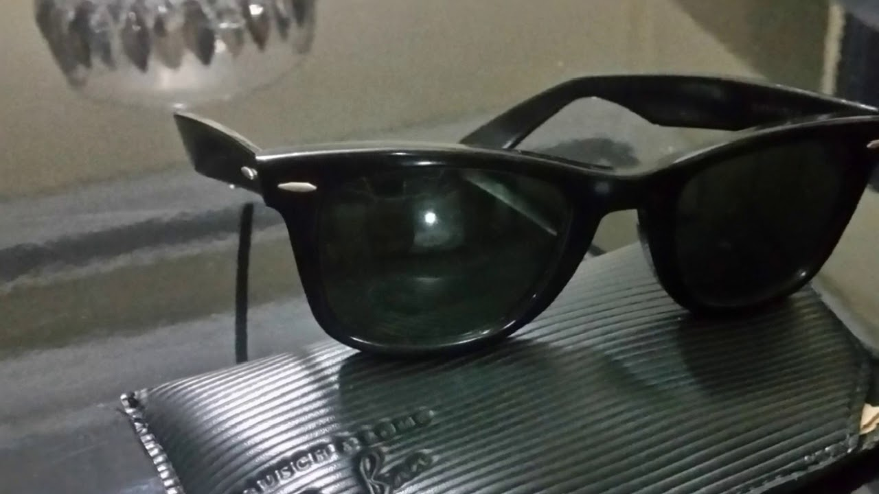 8ad9a59b197 Ray ban wayfarer michael jackson - YouTube