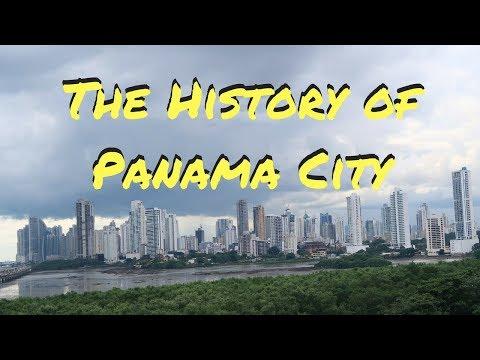THE HISTORY OF PANAMA CITY   PANAMA TRAVEL VLOG